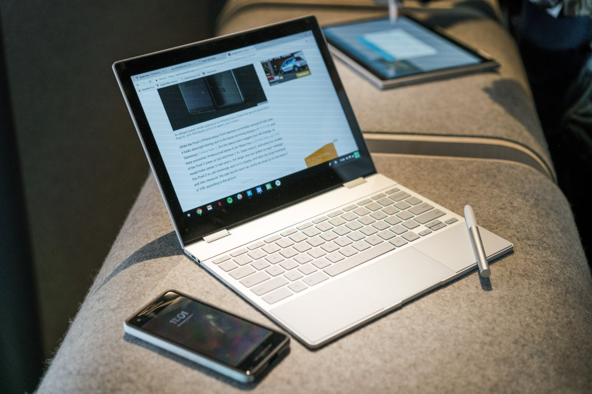 Pixelbook with Pixel