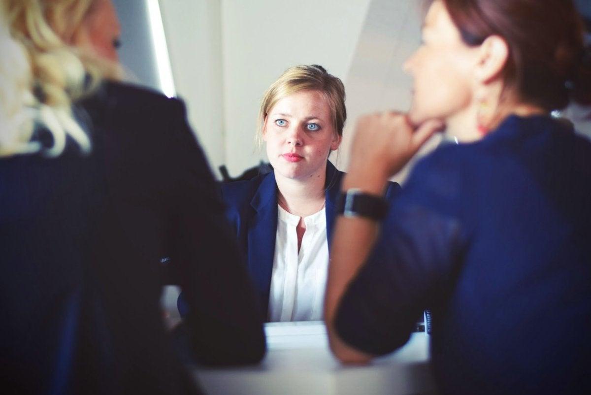 employees women office work diversity gender [by Tim Gouw - CC0 via Unsplash]