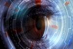 eye tracking - biometric ID iris scan