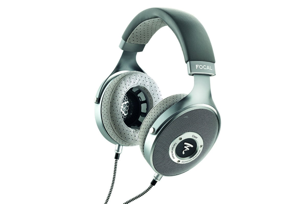 Focal Clear reference headphones.