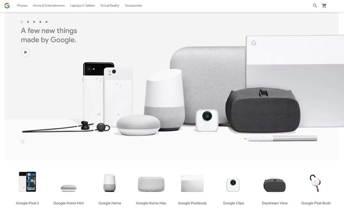 Google Ecosystem: Google Store