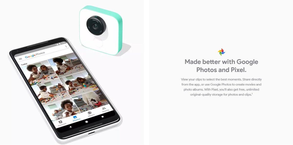 Google Ecosystem: Pixel Phone, Clips