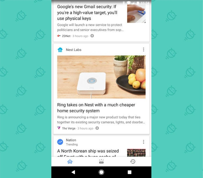 Google Feed: Android Google App