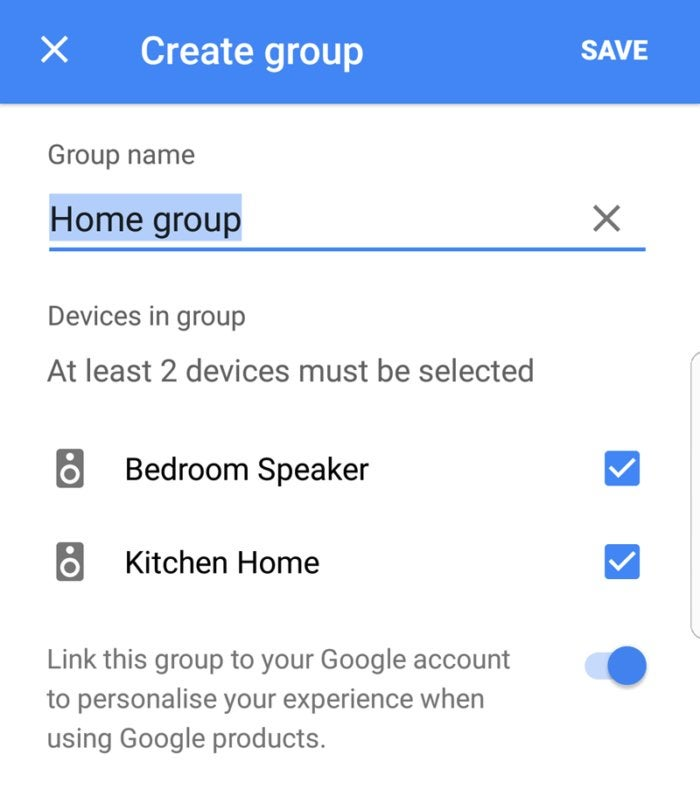 google home multiroom audio 3