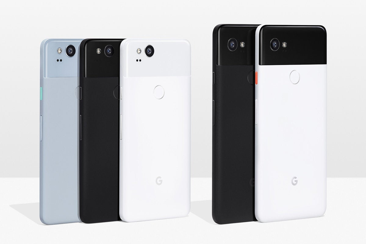 Google Pixel 2 line of phones