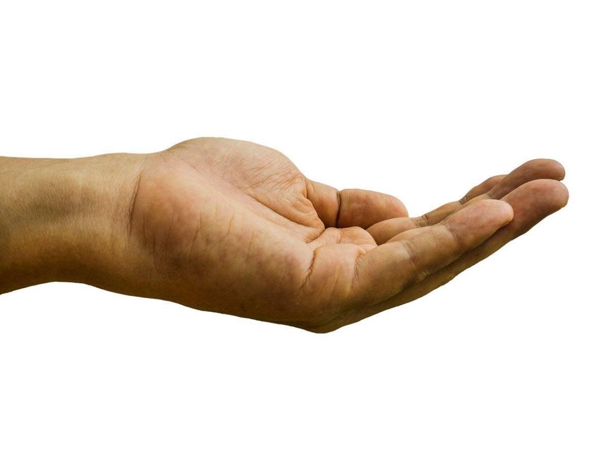 hand handout