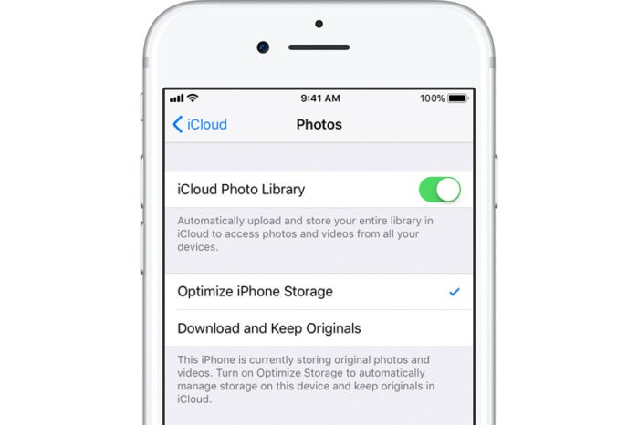 How Optimized iPhone Storage works with iCloud Photo Library | Macworld