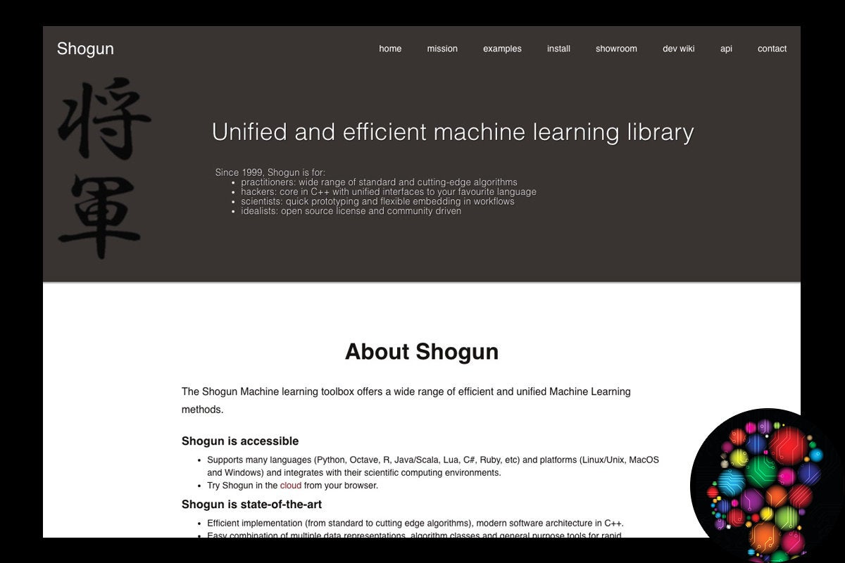 ifw shogun machine learning