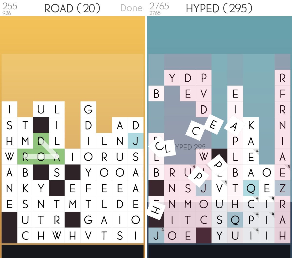 ios word spelltower