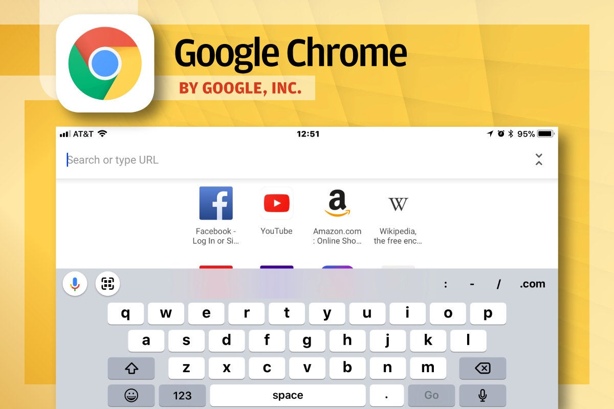 Alternative iOS Browsers - Google Chrome