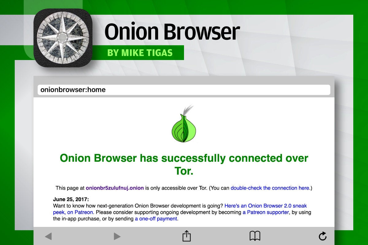 Alternative iOS Browsers - Onion Browser