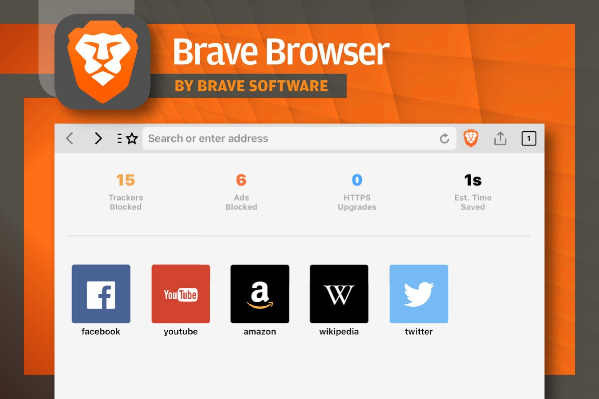 Alternative iOS Browsers - Brave Browser