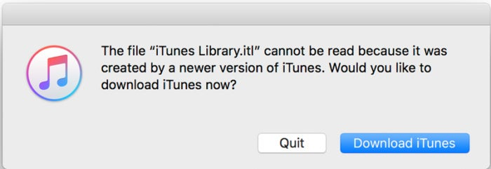 itunes library create new