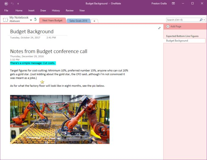 OneNote vs  Evernote: A personal take on two great note