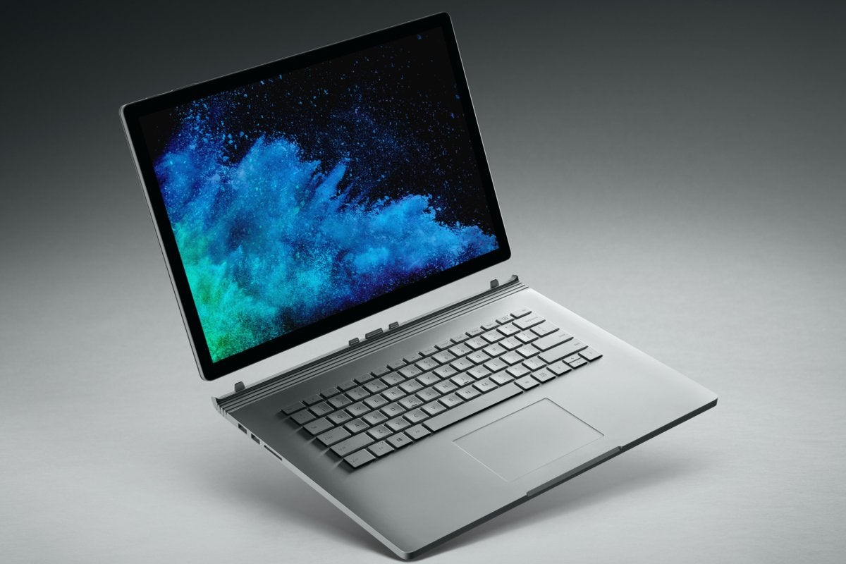 microsoft surface book 2 15 inch laptop mode 2
