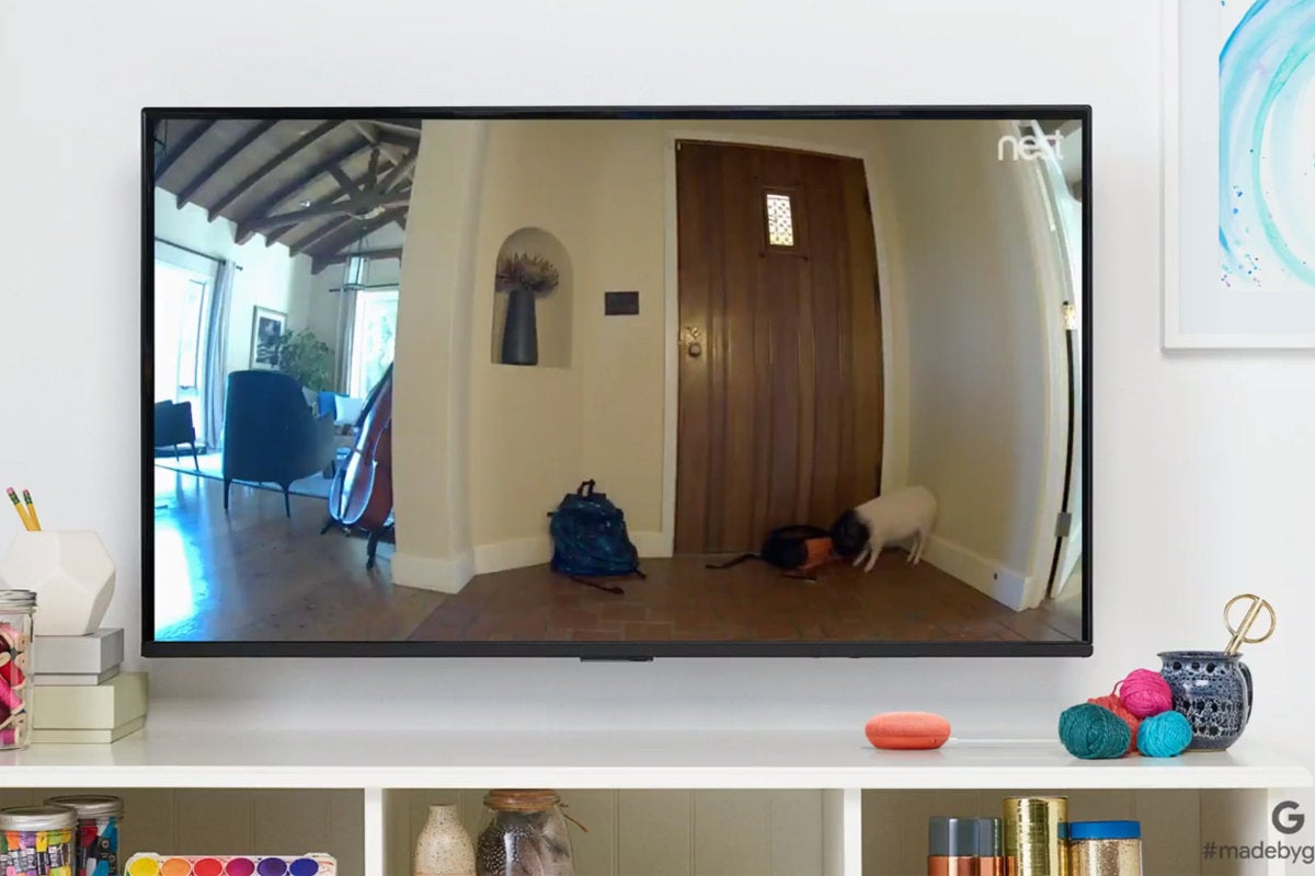 nest cam on chromecast