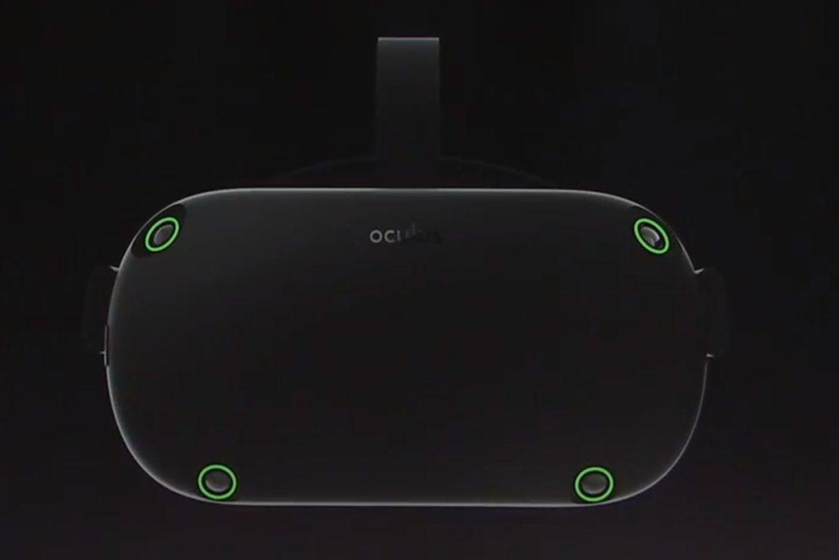 oculus santa cruz sensors