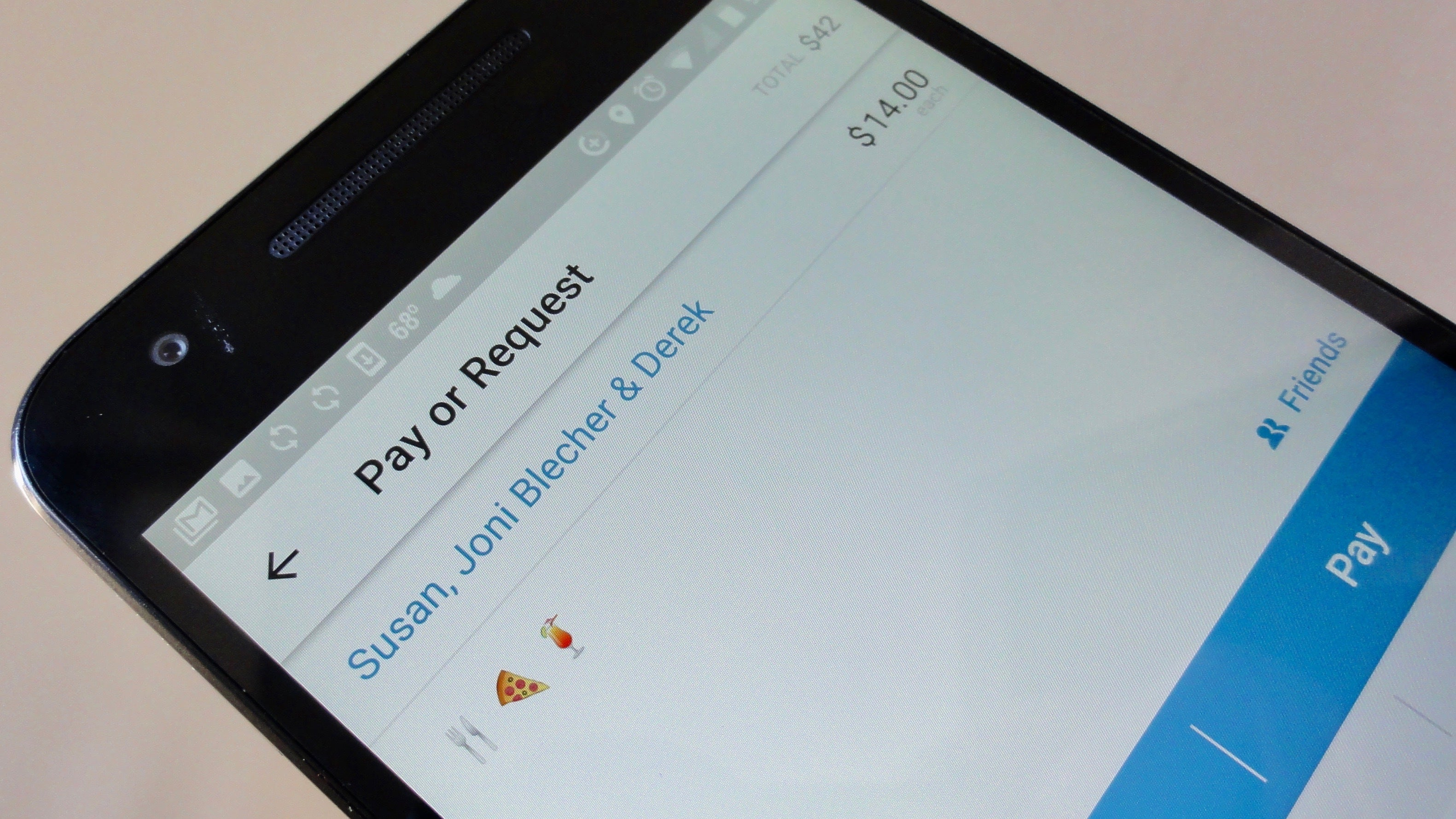 venmo review  an app that makes it easy u2014and social u2014to split the check