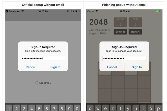 iphone password not working how to avoid password prompted phishing scams in ios 3129