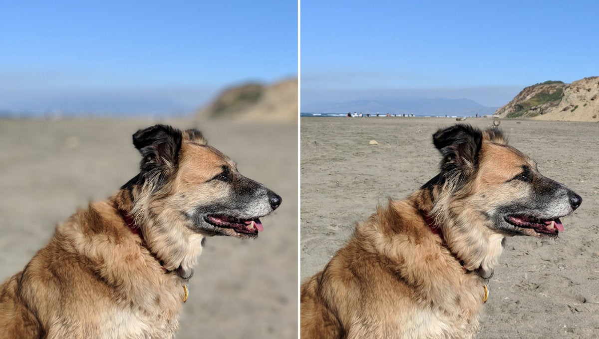 pixel 2 portrait comparison