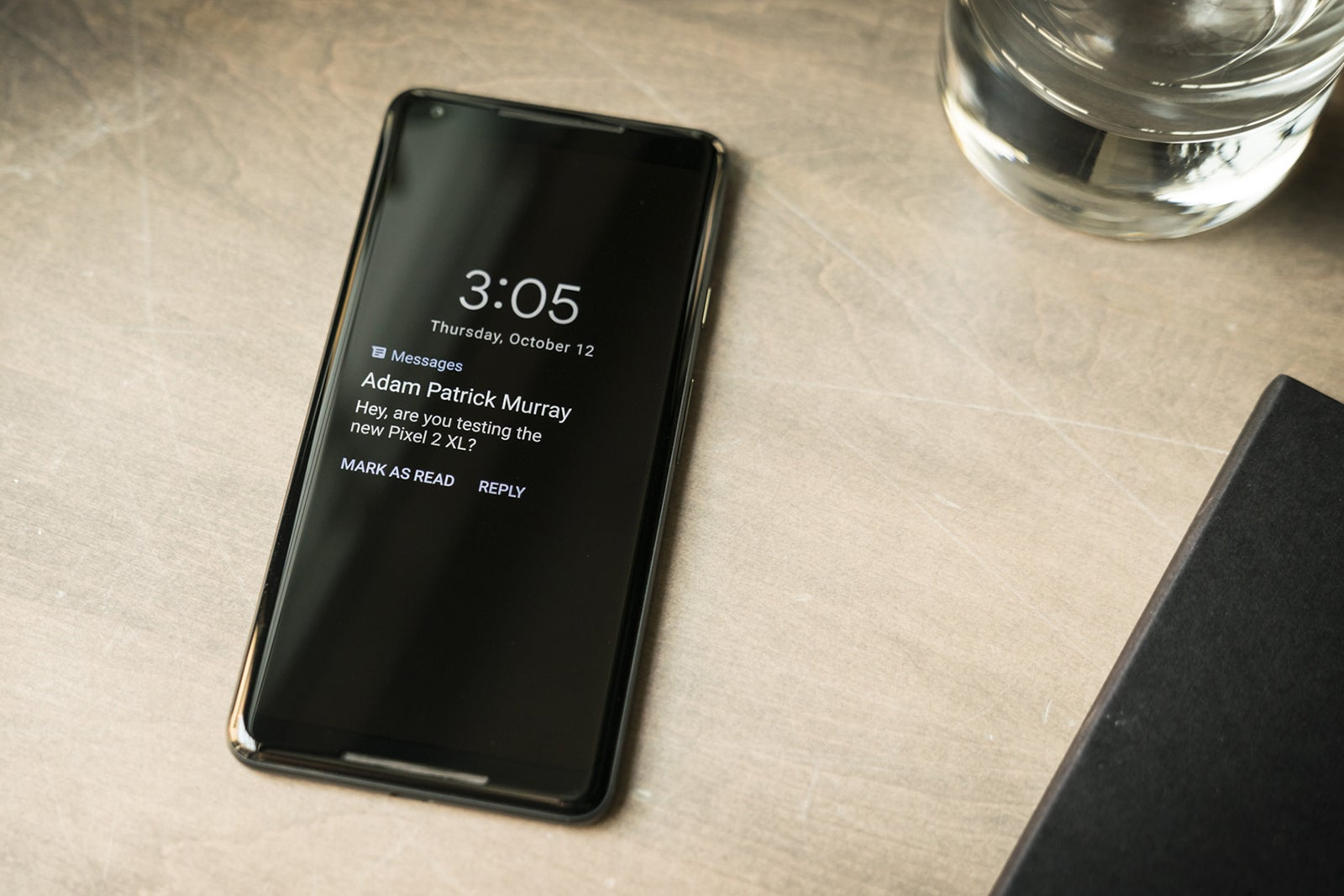how to write a text on pixel 2