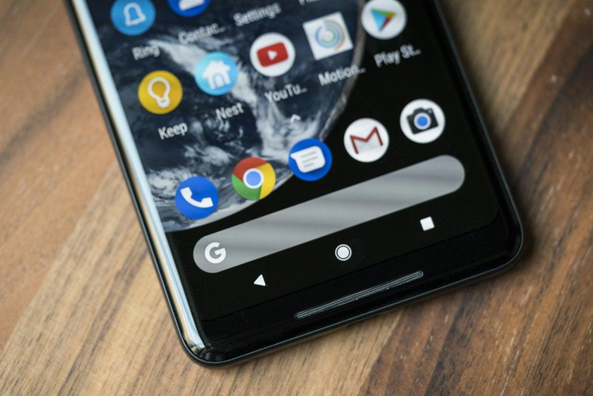 pixel 2 xl search bar