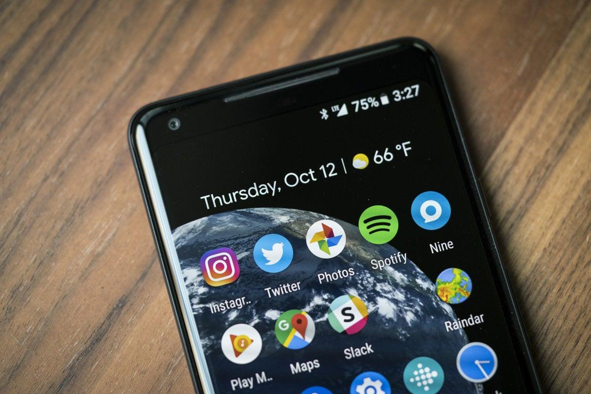 pixel 2 xl weather widget