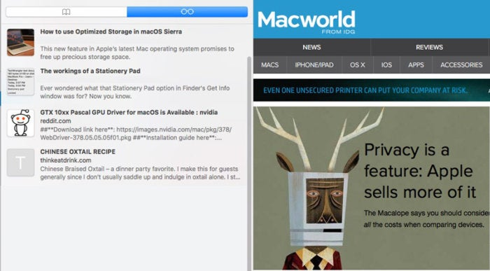 photo image How to empty your Safari Reading List