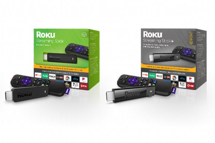 roku streaming stick and stick