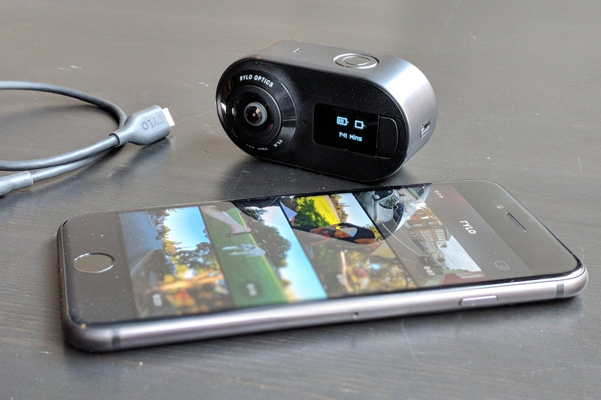 rylo video camera with ios app