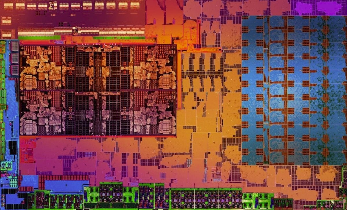 ryzen mobile die shot