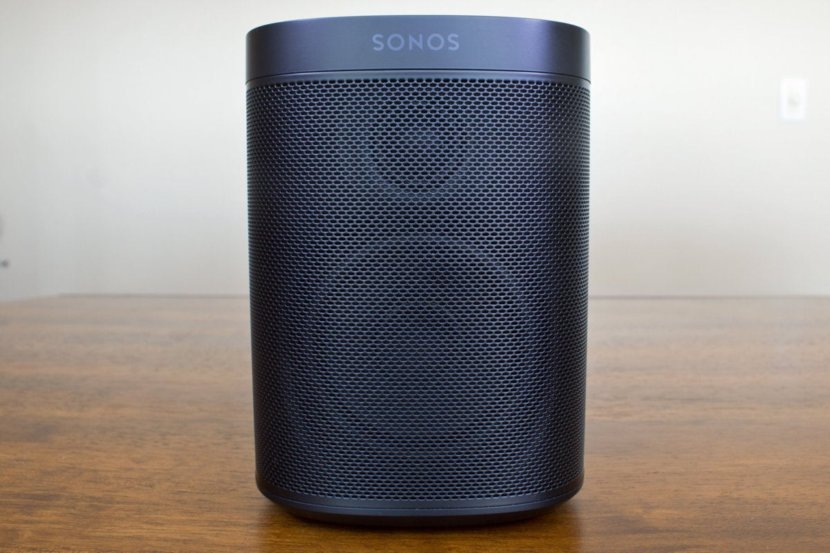 sonos one straight on