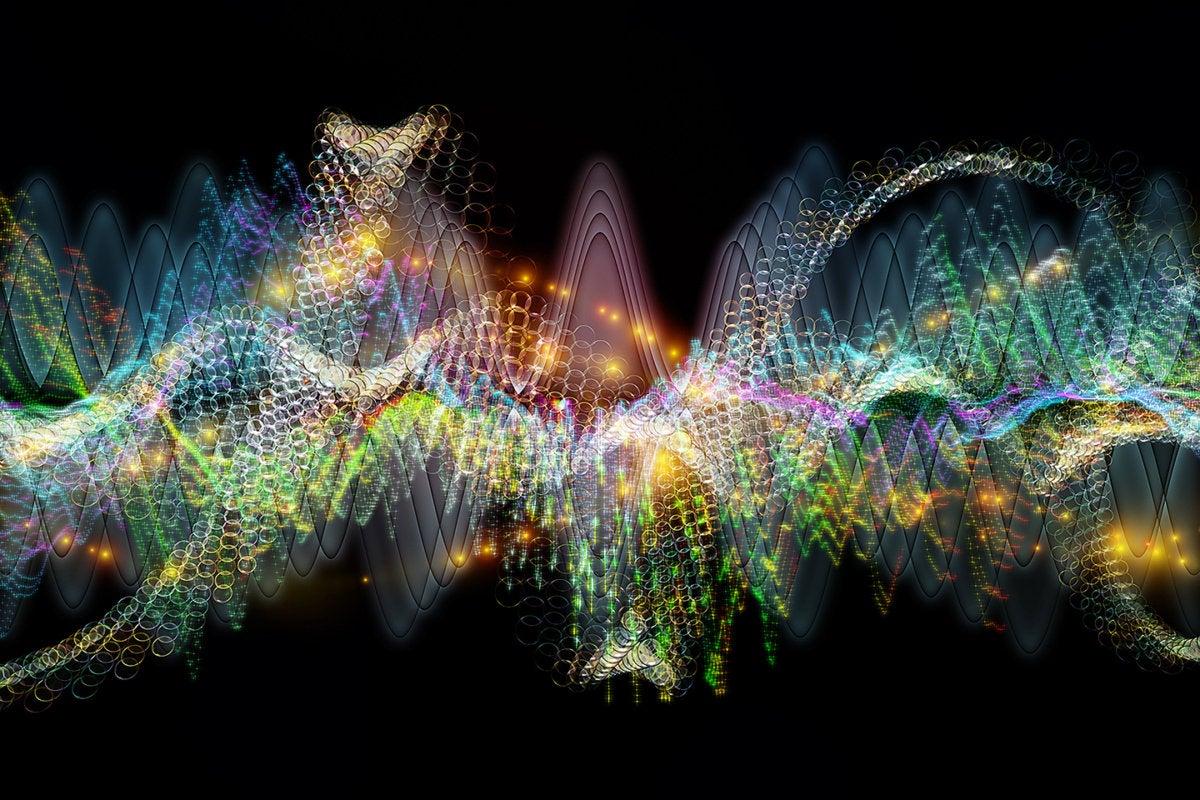 sound wave - audio wave - speech recognition