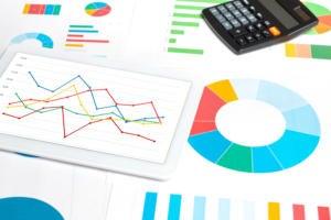 spreadsheet pie chart bar chart