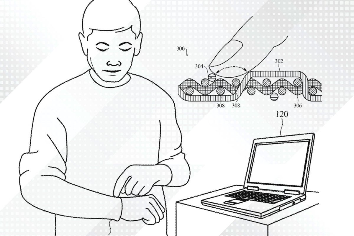 Apple\'s textile-based touch-sensitive technology - United States Patent and Trademark Office