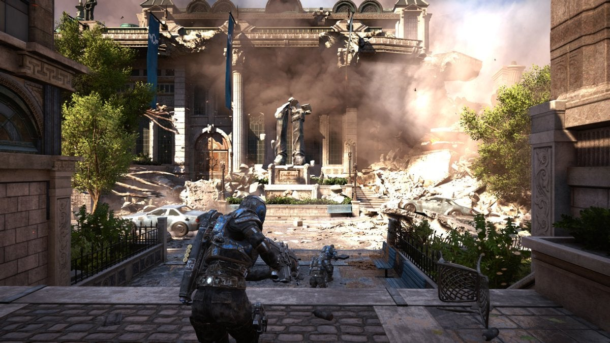 Gears of War 4 - Xbox One X
