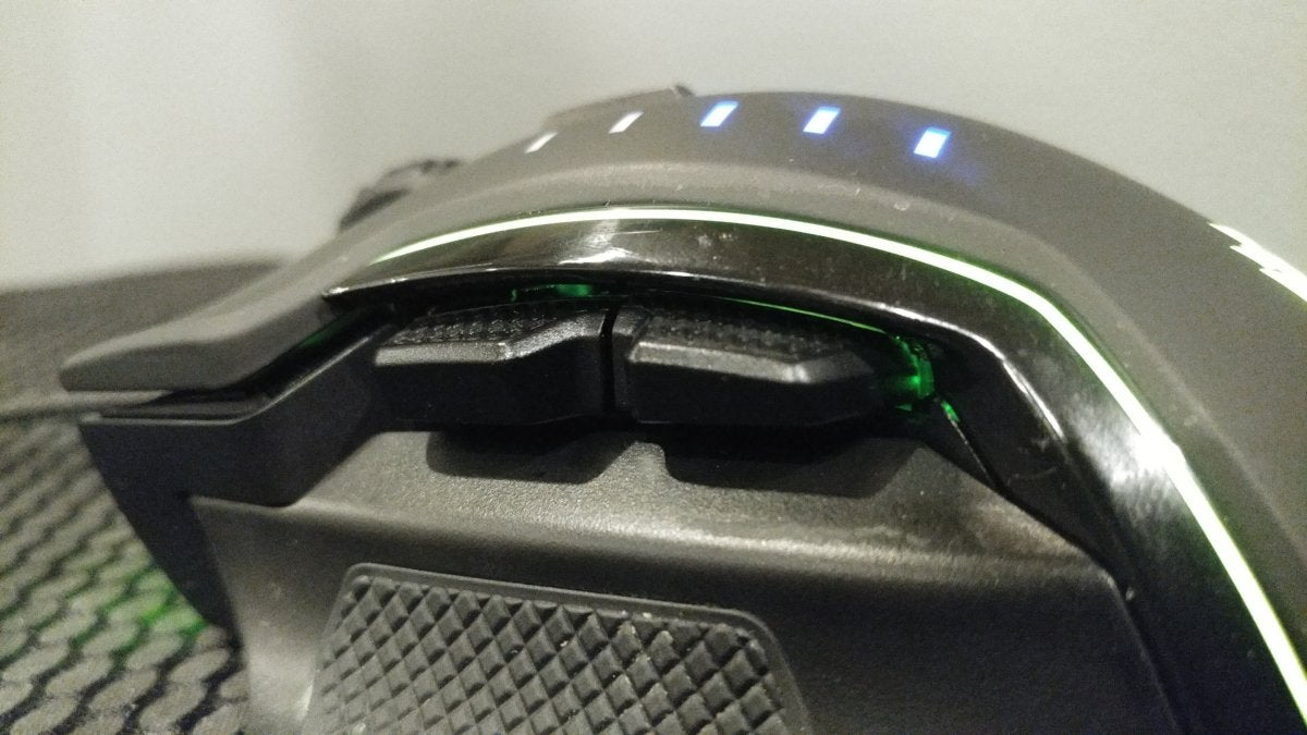 Corsair Glaive review: This mouse has so many RGB LEDs it