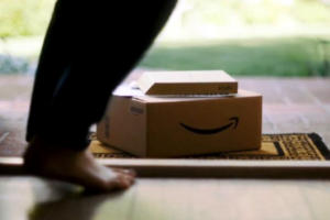 amazon package doorstep