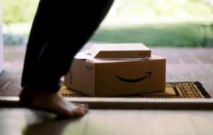 amazon package doorstep