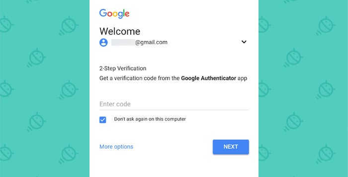Android Security: Two-Factor Authorization