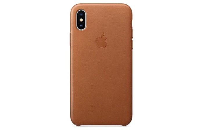 apple leather iphone x