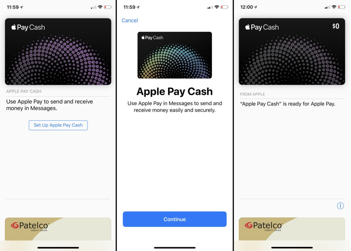apple pay cash setup
