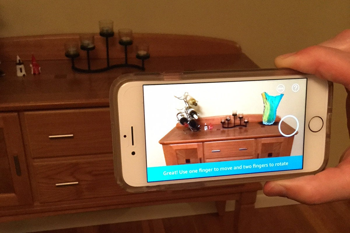 amazon shopping app augmented reality