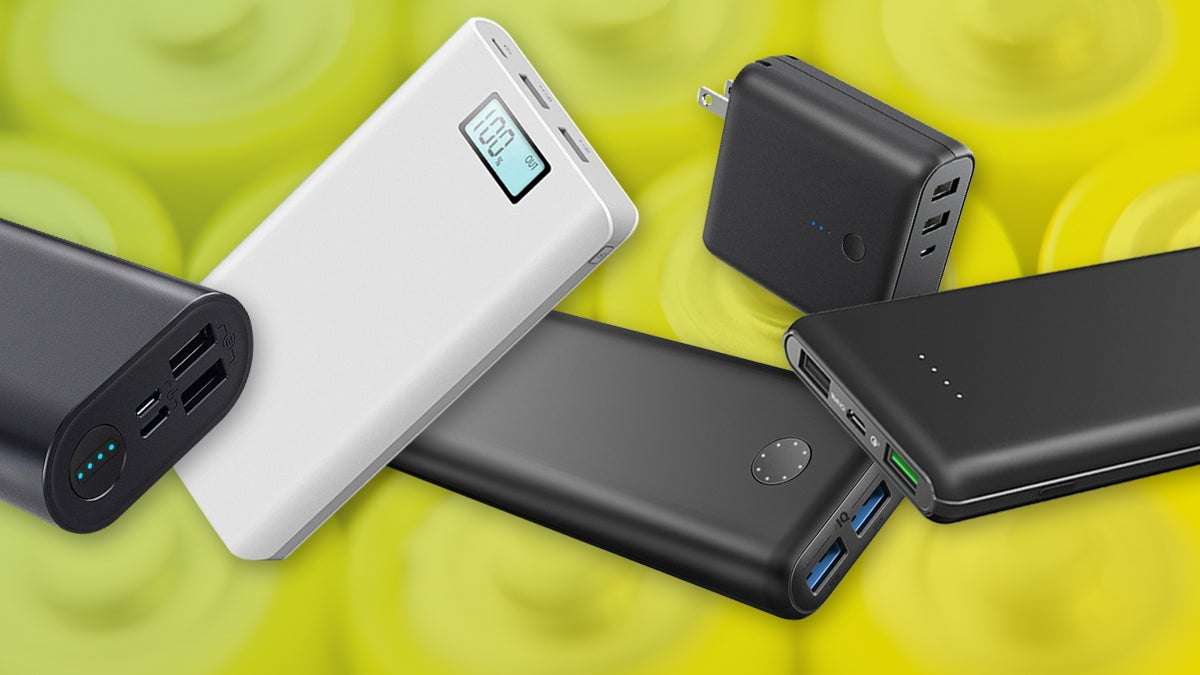 best power banks of 2019 the top usb portable chargers. Black Bedroom Furniture Sets. Home Design Ideas