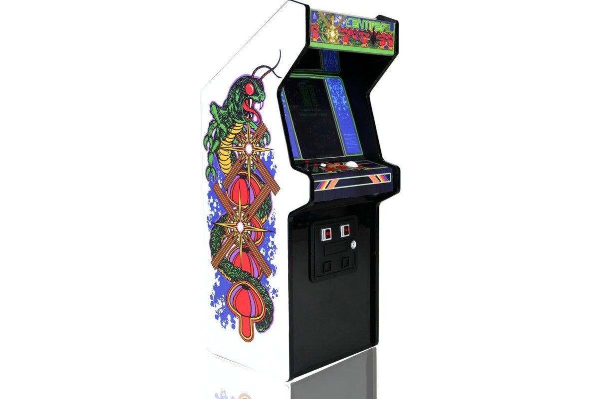 Replicade Brings Atari S Centipede Back In A Miniature Arcade Cabinet Pcworld