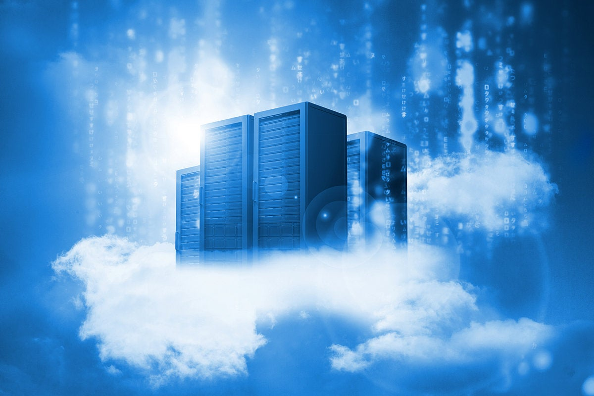 cloud computing - data center - network servers