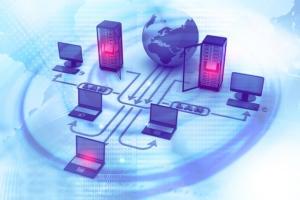 cloud computing - network server