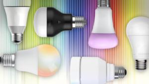 combined led smart bulb hub