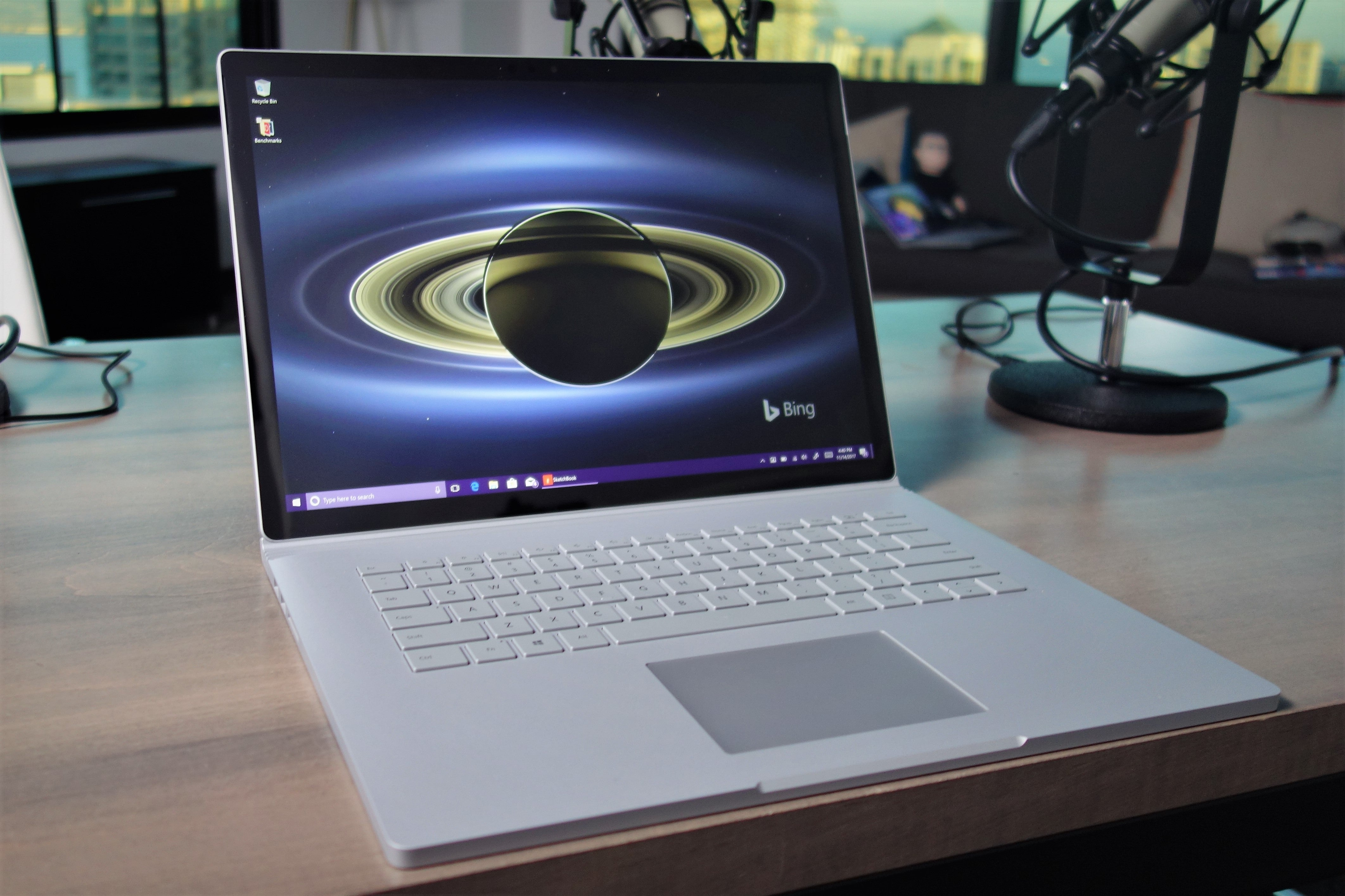 microsoft surface book 2 review the ultimate laptop improves in every way but one pcworld. Black Bedroom Furniture Sets. Home Design Ideas