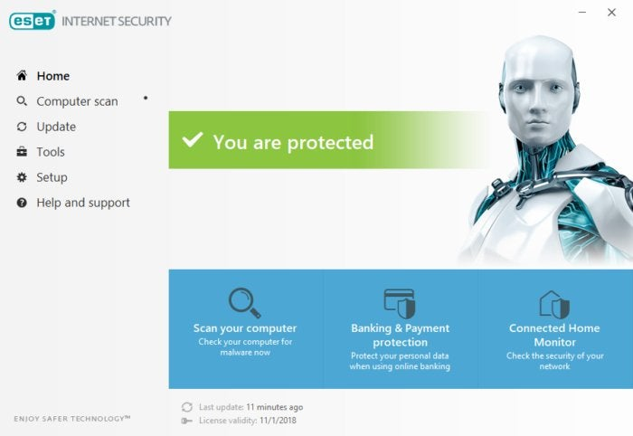 how much Eset Smart Security for software?